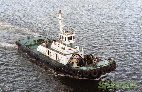 Sagami Shipbuilding Co 36.22M Tug Boat 1988 - Damaged
