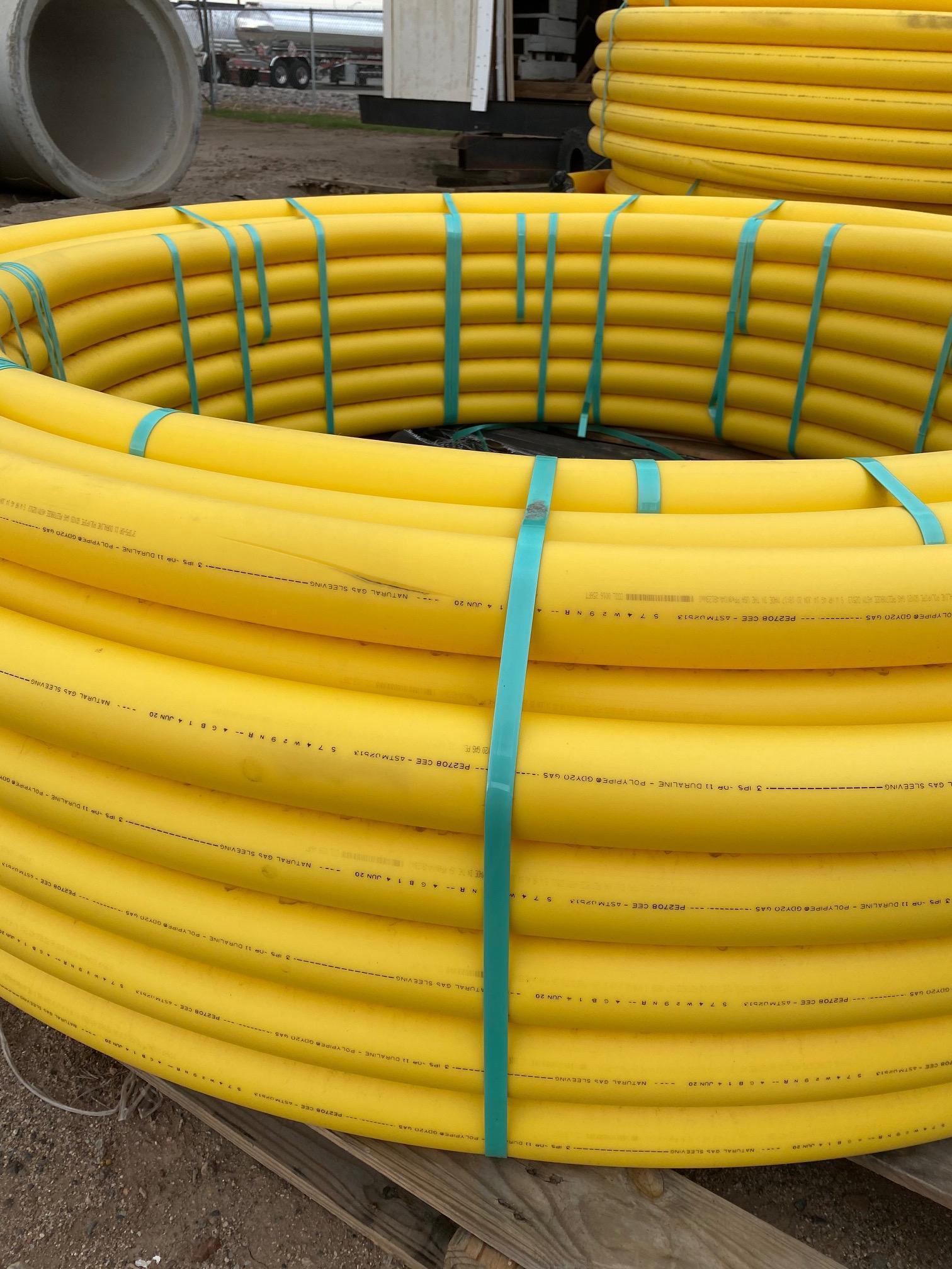 Gas Line Sleeve Coils