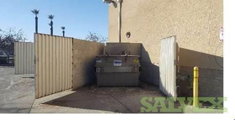 JV CS-01 1 Yrd Garbage Compactors (2 Units)