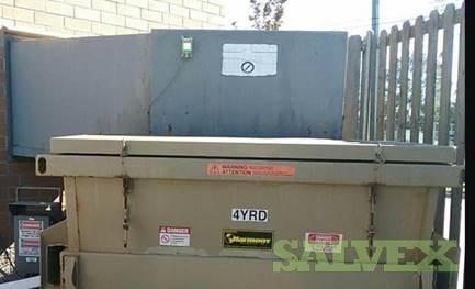 JV CS-01 4 Yrd Garbage Compactor (1 Unit)