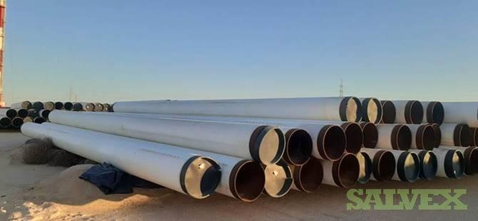 24 0.469WT X65 3LPP ERW/HFI Surplus Line Pipe (51,142 Feet / 2,737 Metric Tons)