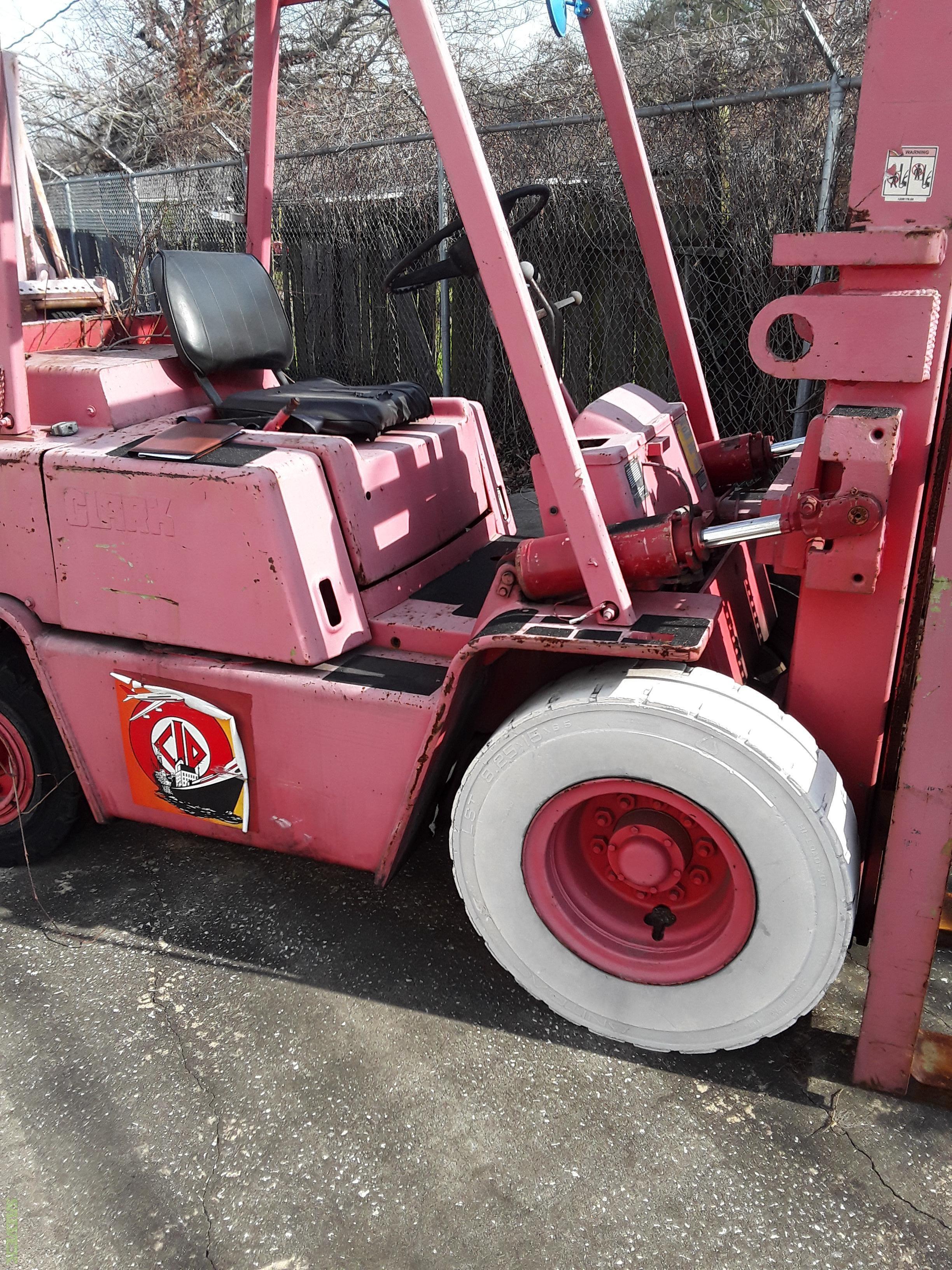Clark Forklift 8,000lb