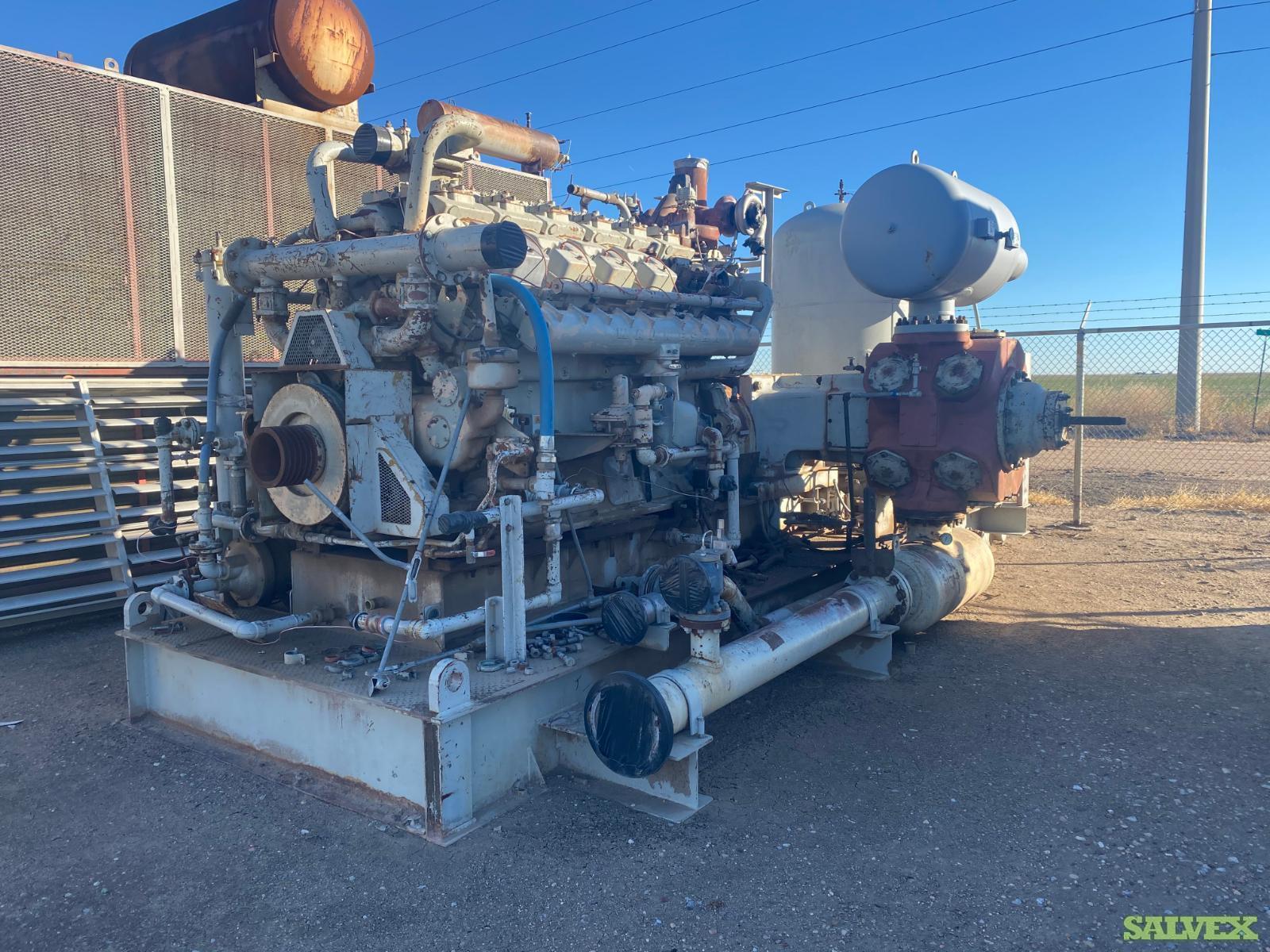 Waukesha Compressor Skids C-YRH-223 (Overhauled)