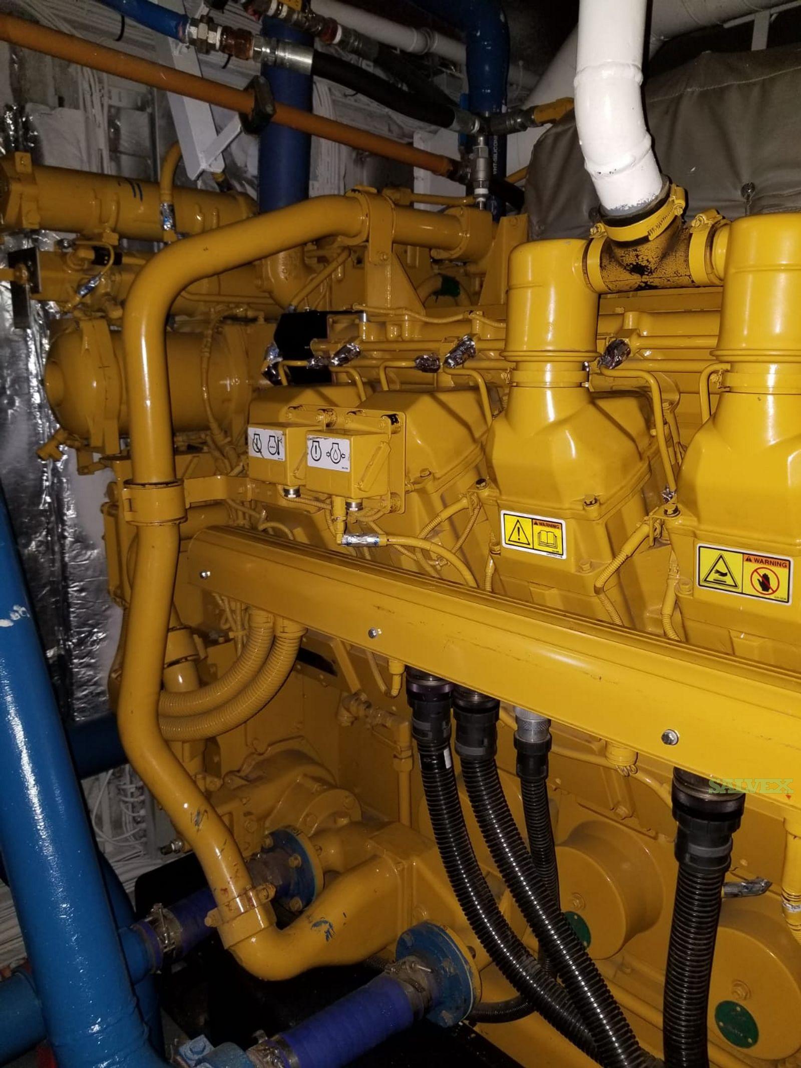 Caterpillar 3512C Marine Generator Sets (2 Units)