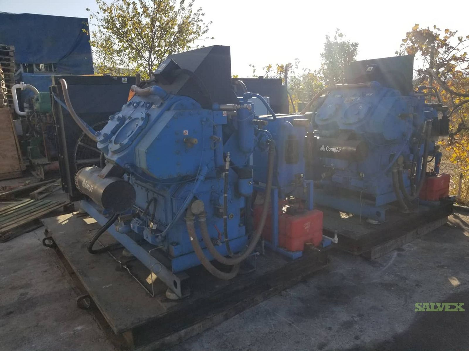 CompAIR REAVELL 5437 Air Compressors (2 Units)