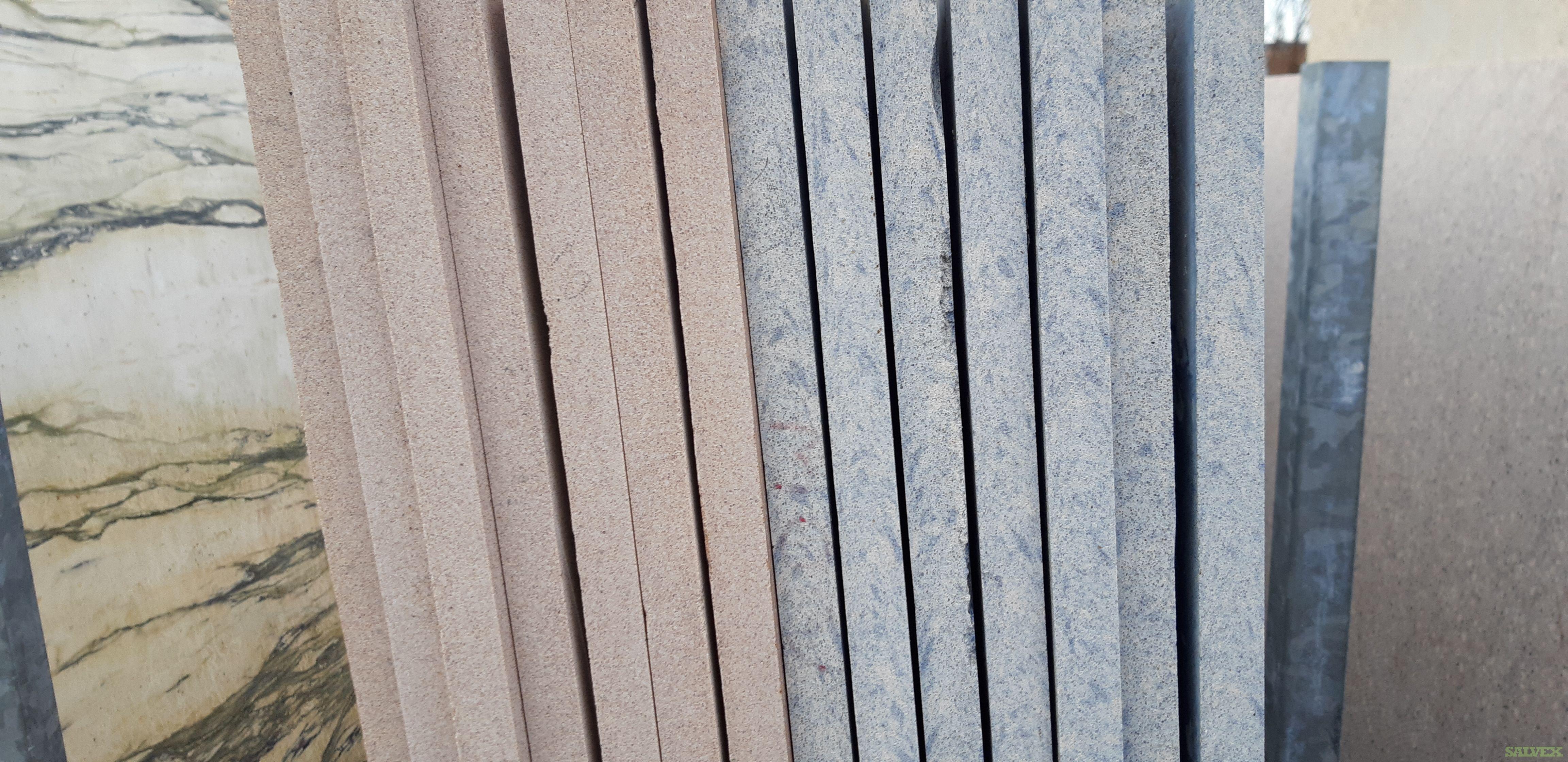 Quartz and Granite Slabs (77 Slabs / 50,375 Lbs)