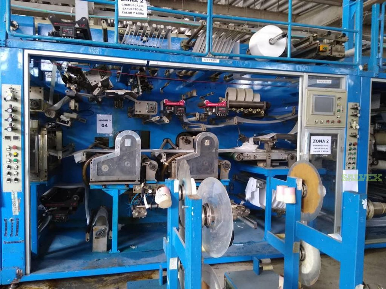 Adult Diaper Manufacturing Line (Partial Fire Damage)