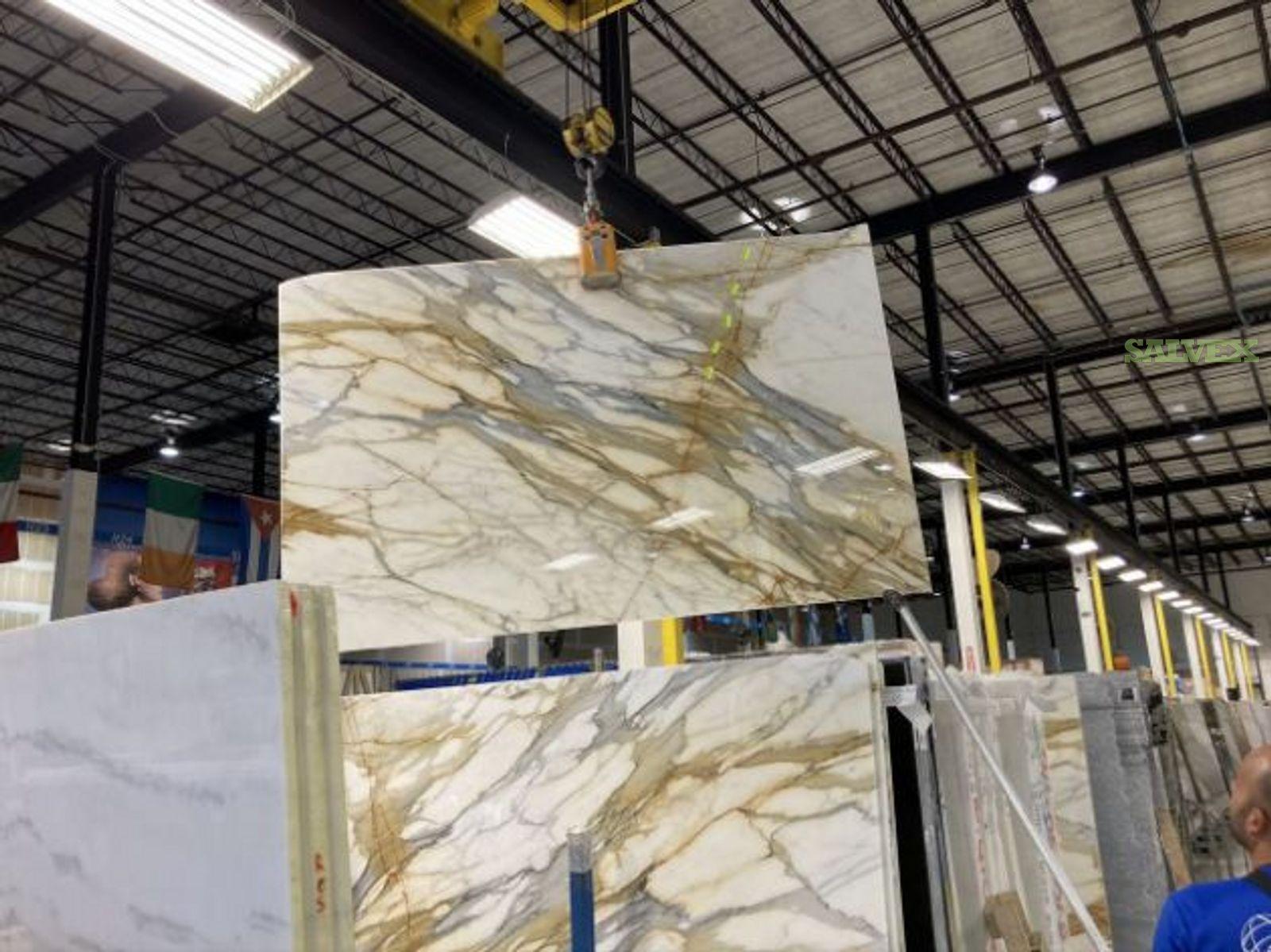 Damaged Marble Slabs (10 Units)