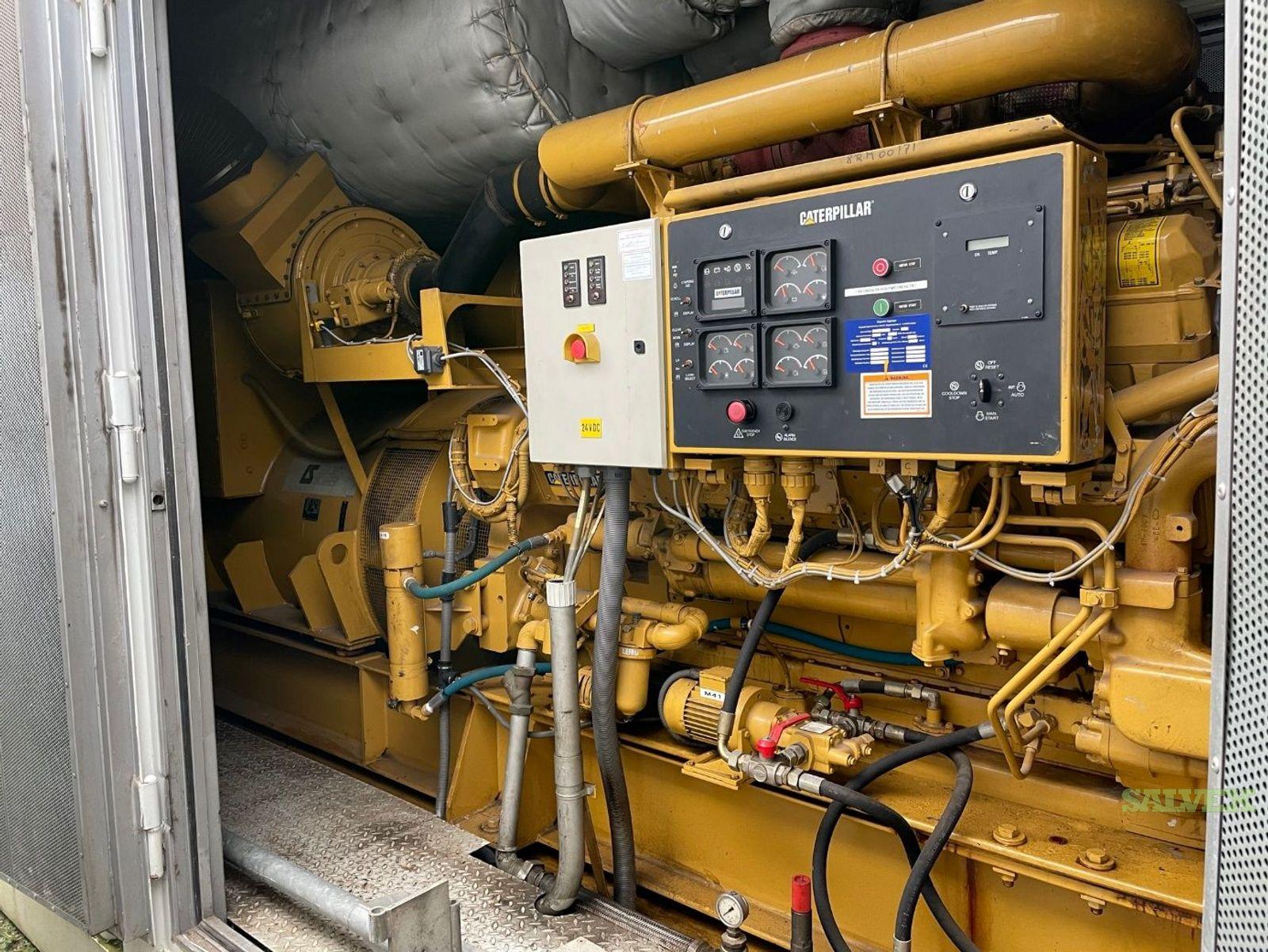 1997 Caterpillar 3512B Diesel Generator Engines Sets (4 Sets)