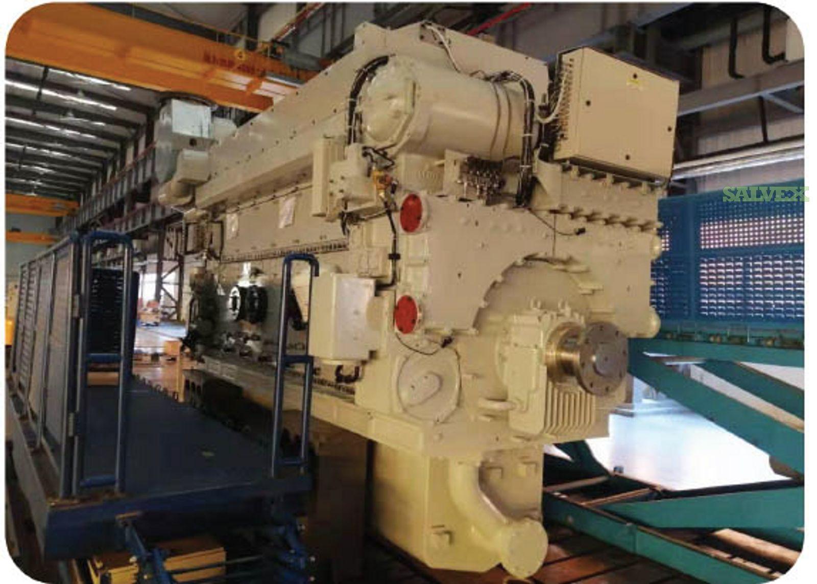 DOOSAN-MAN 6L27/38 Diesel Generator set ( 4 Units)