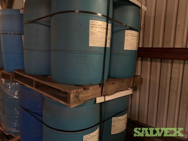 Sulfuric Acid 32% (7840 Lbs / 14 Drums)