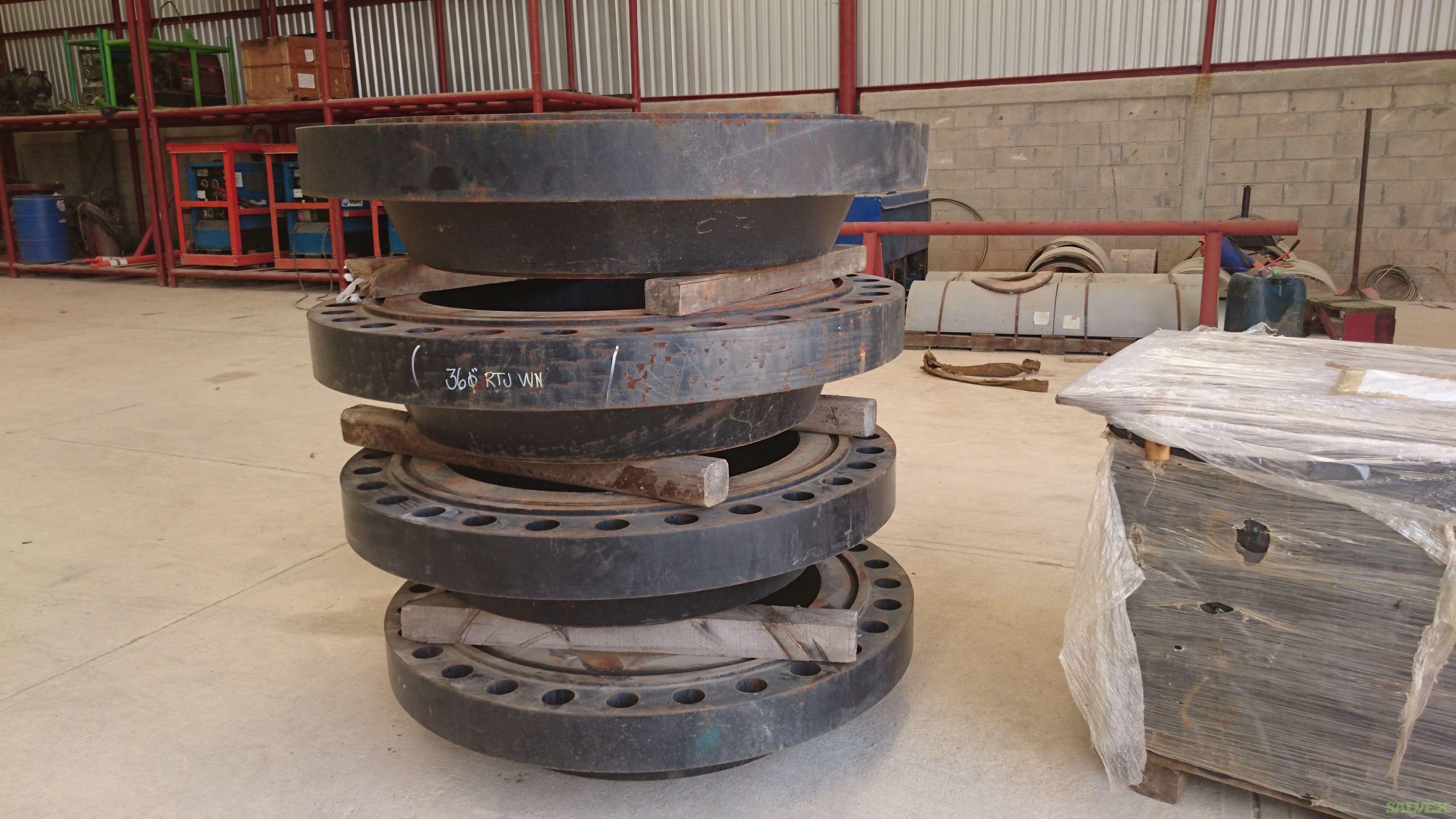 Welding Neck Flange, ASTM A694 F65 & ASTM A105 36 600# for Sour Service Nace (7 Units)