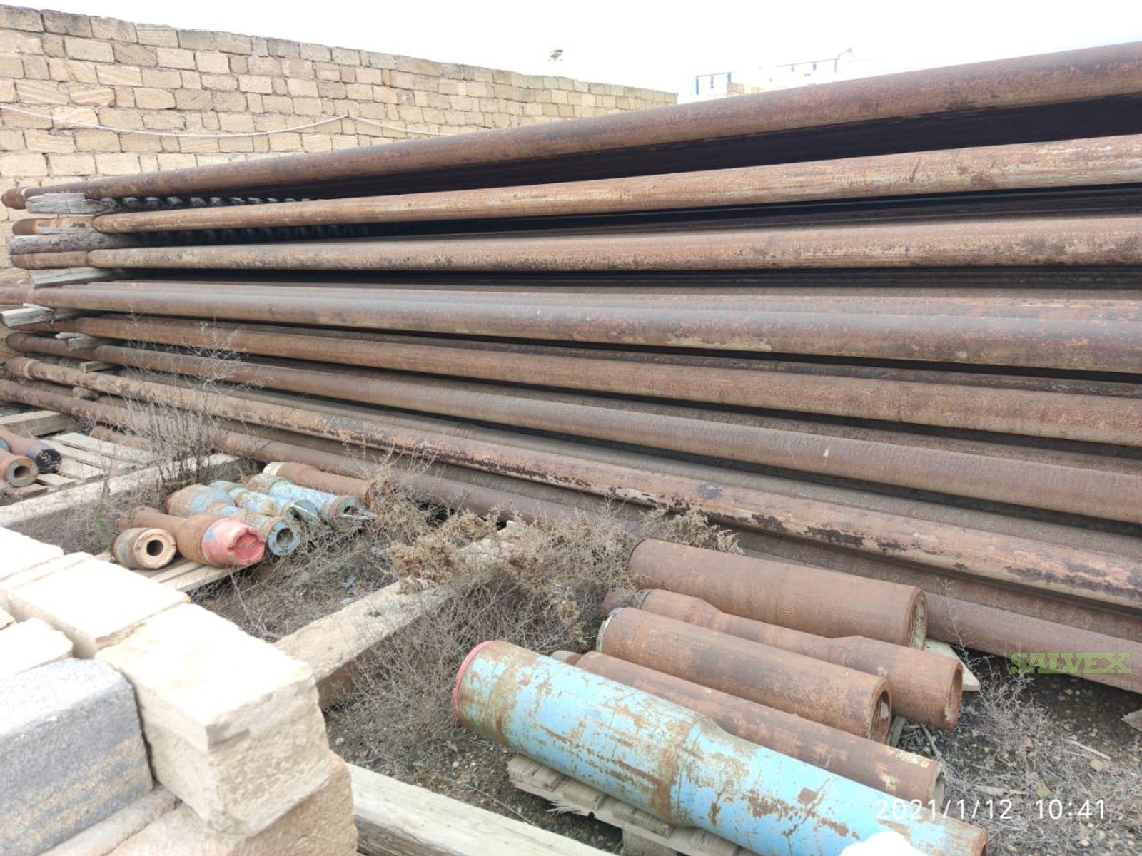 5 19.50# G105 NC50 Surplus Drill Pipe (16,800 Feet / 149 Metric Tons)