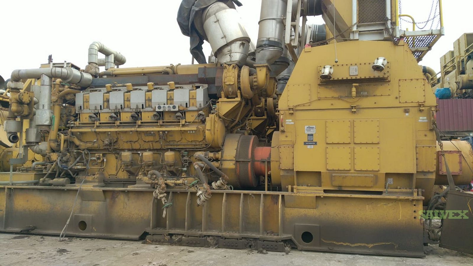 CAT Marine Generator with Alternator 3612 (6 Units)