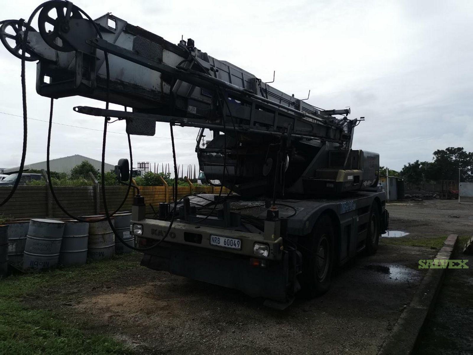 Kato KR22H (220) 22 Ton Mobile Crane 1996