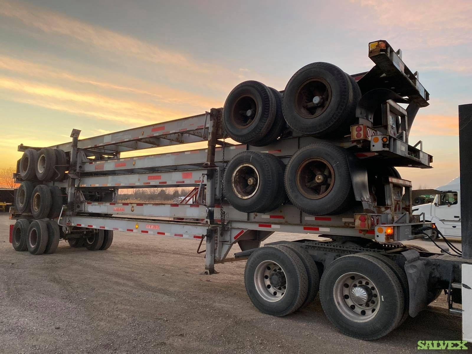 20-Ft & 40-Ft Tandem and Tri Axle Chassis (2 Units)