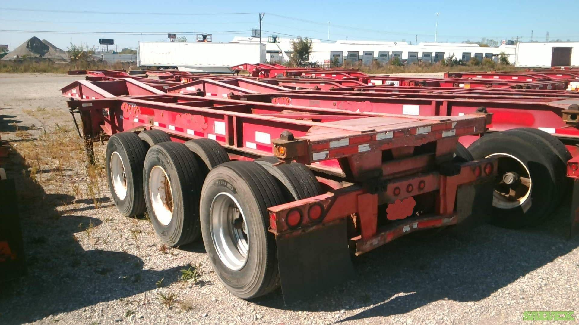 20-Ft Tri Axle Chassis (1 Unit)