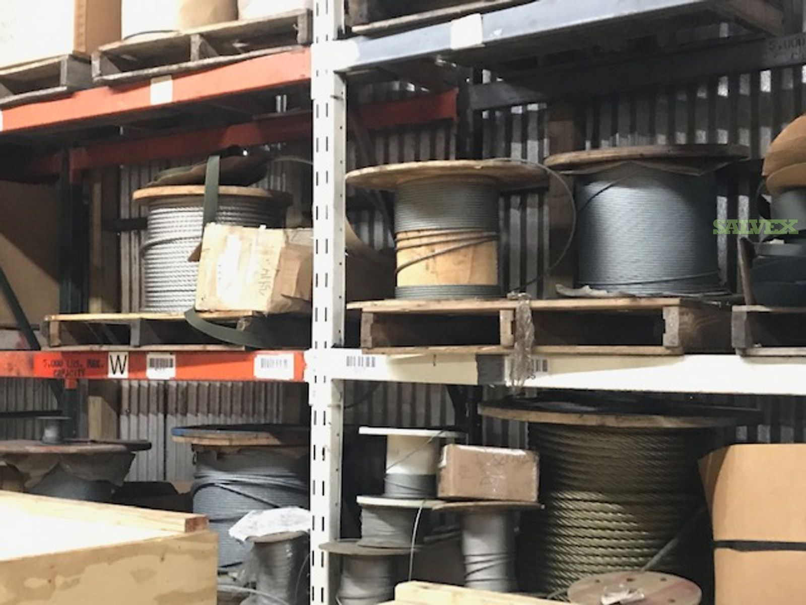 Wire Rope Inventory (5,979.42 Feet) - in NY