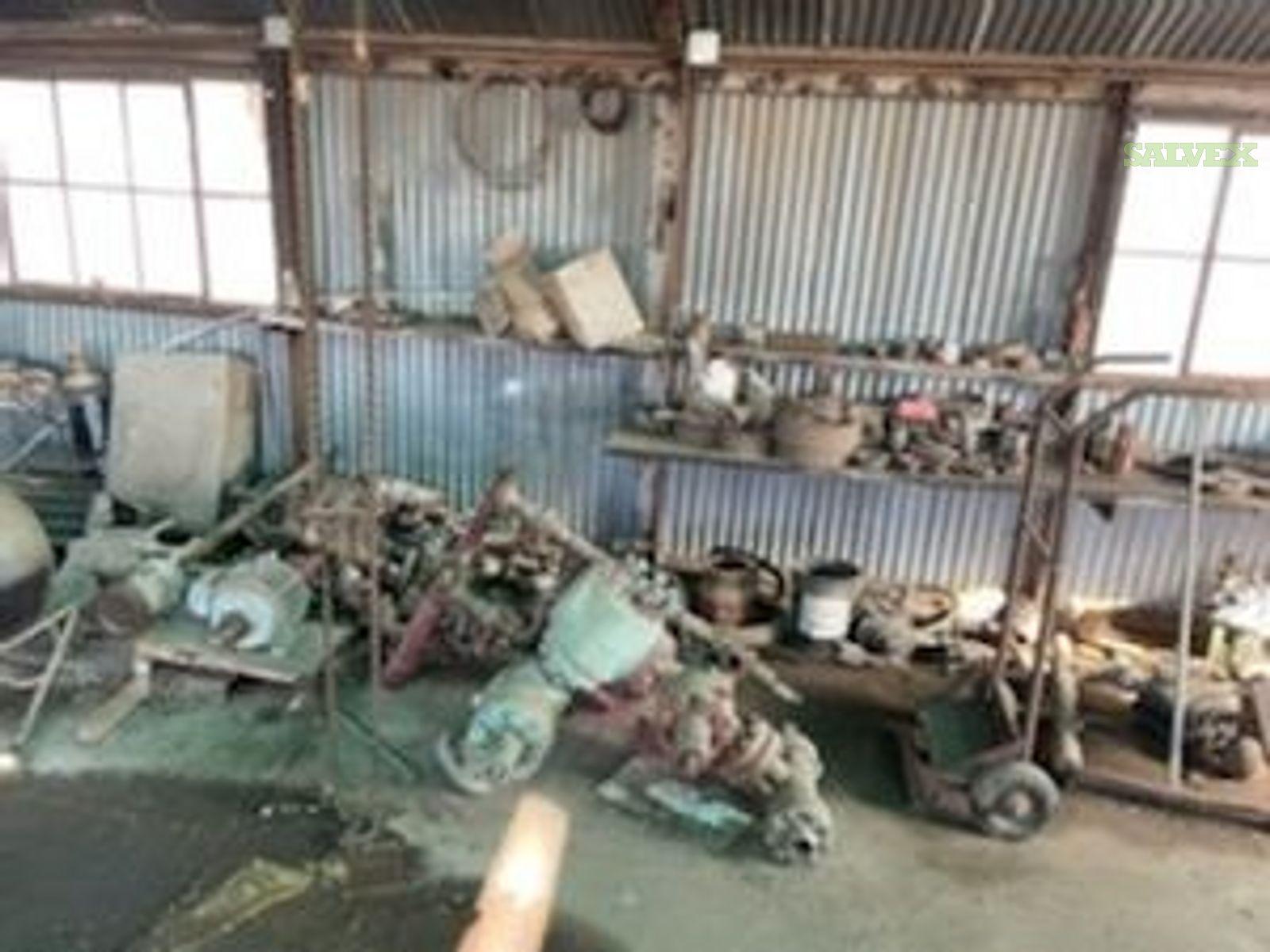 Pumping Units, Stairs/Railings, Motors, etc -34 Units