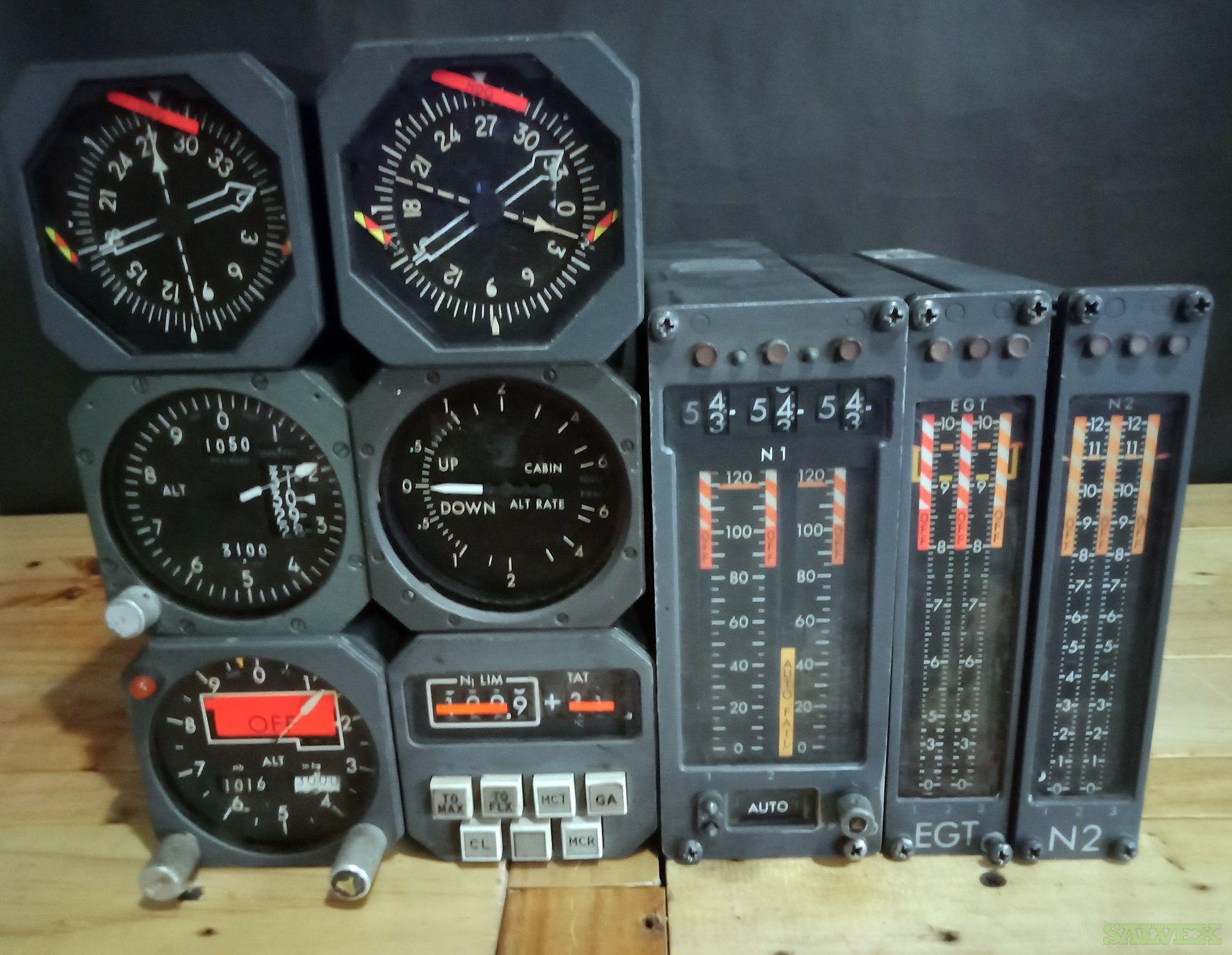 DC-10 RMI, EGT, N1, N2 Indicators and More (9 Units)