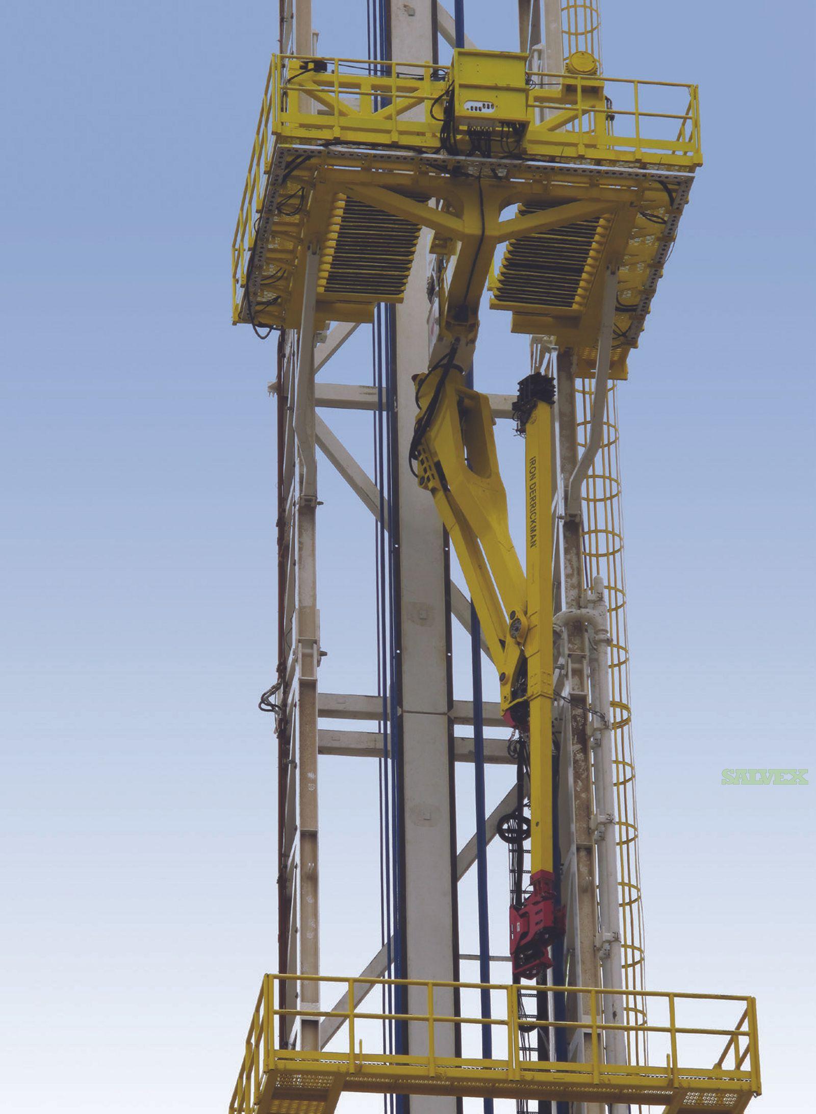 Weatherford Iron Derrickman-S3 Pipe Handling Units (3 Units)