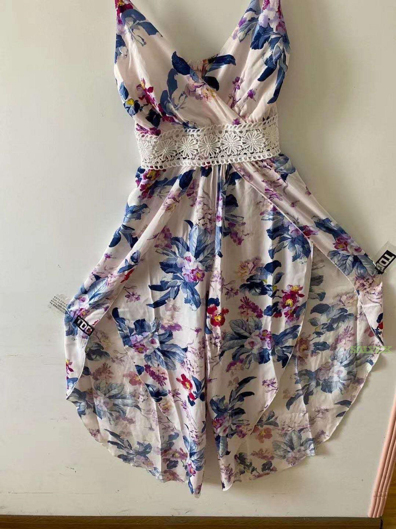 Ladies Floral Jumpsuits (10,740 Pieces)