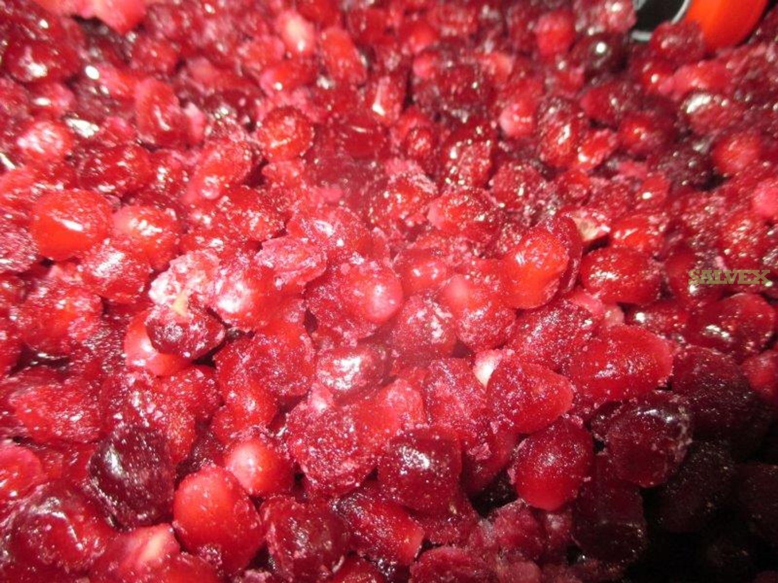 IQF Pomegranate Arils (52,830 Lbs.) - Temp Abuse