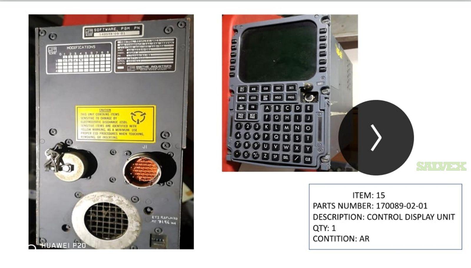 Control Display Unit (1 Unit)