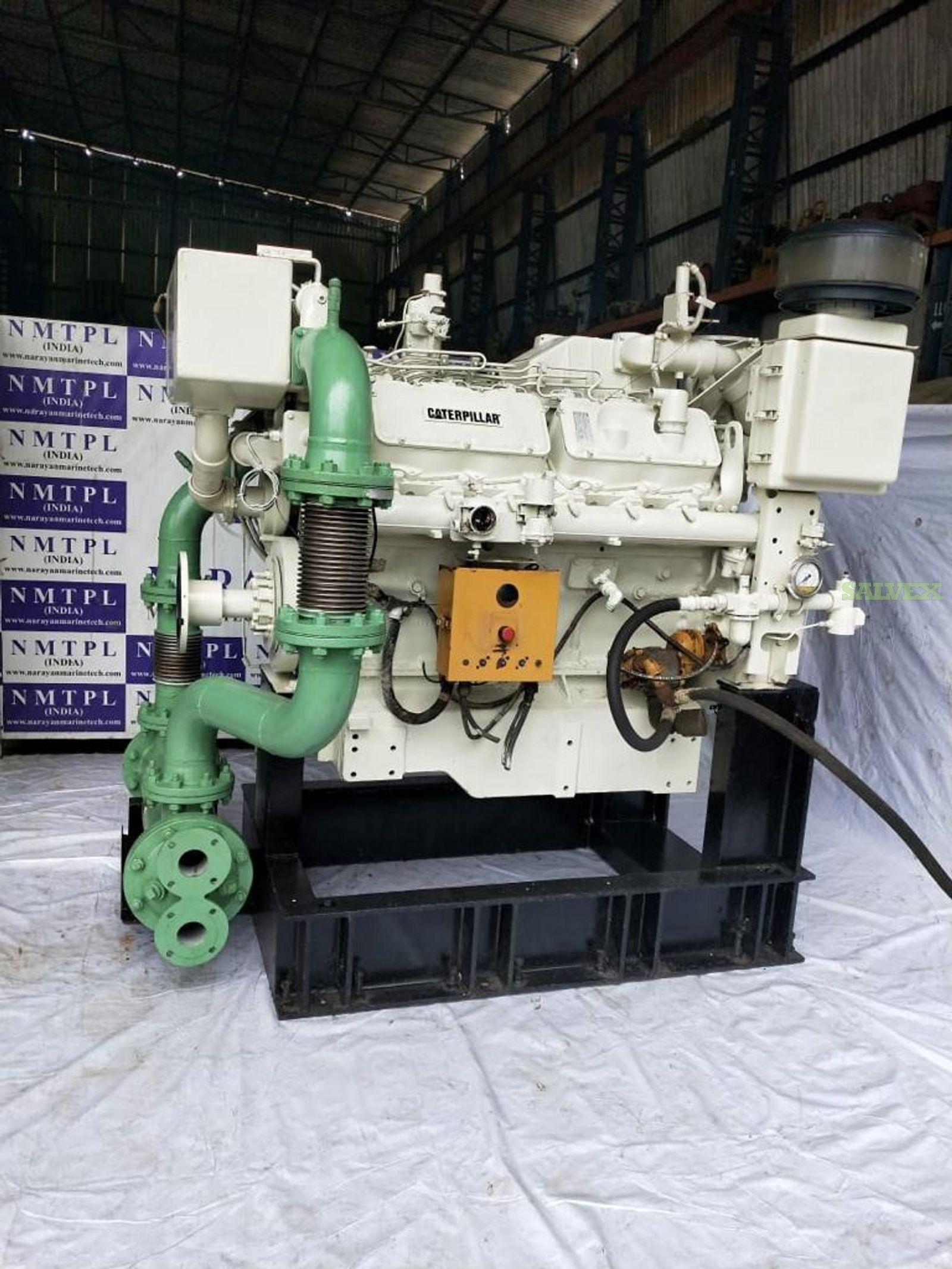 CAT3412 Marine Fire Pump Engine (1 Unit)