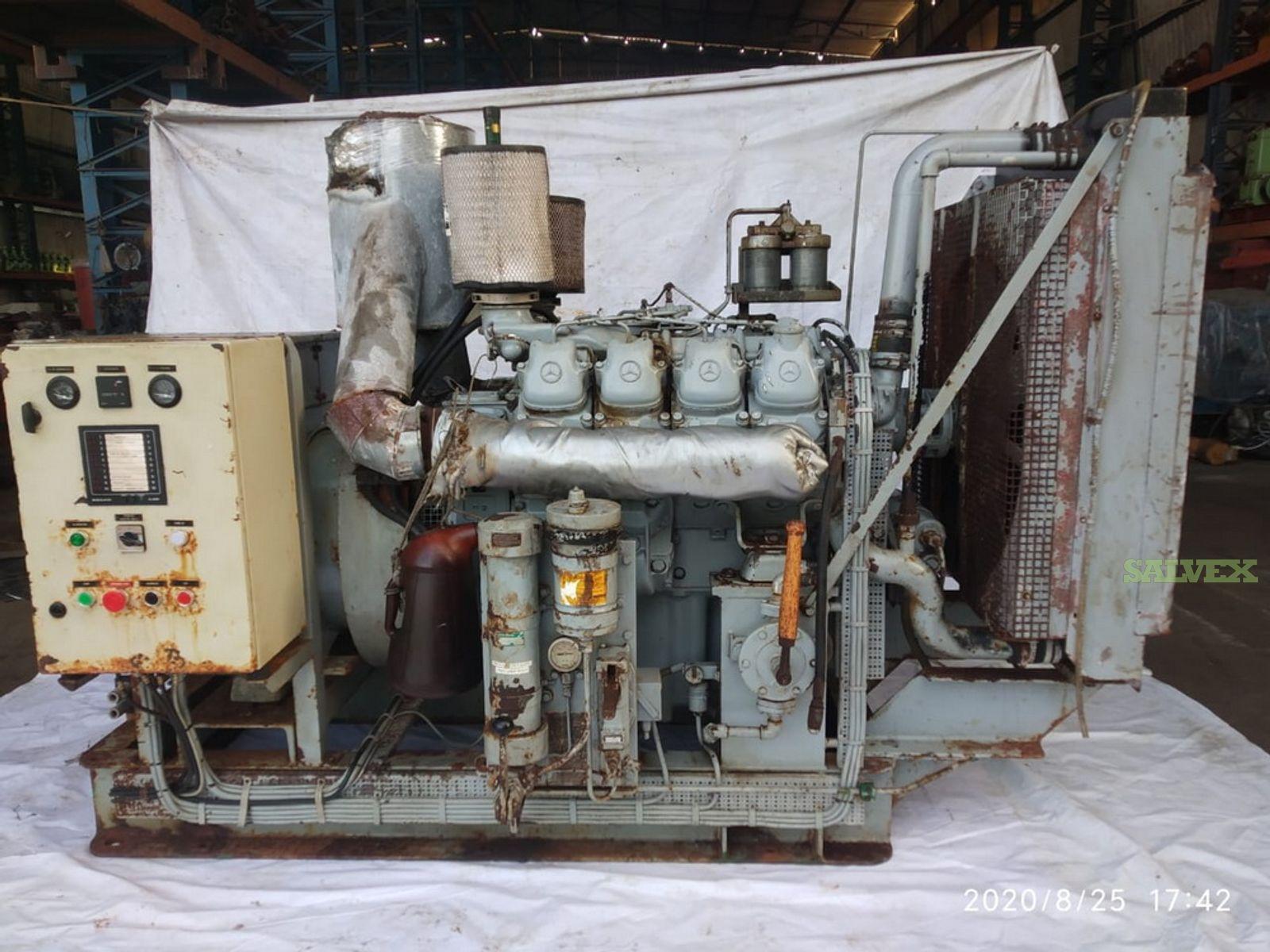 MTU 8V183 Marine Emergency Generator