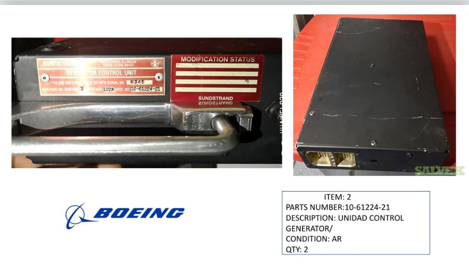 Boeing Avionic Parts Audio Control Panel, Multicolor EDU and More (16 Units)