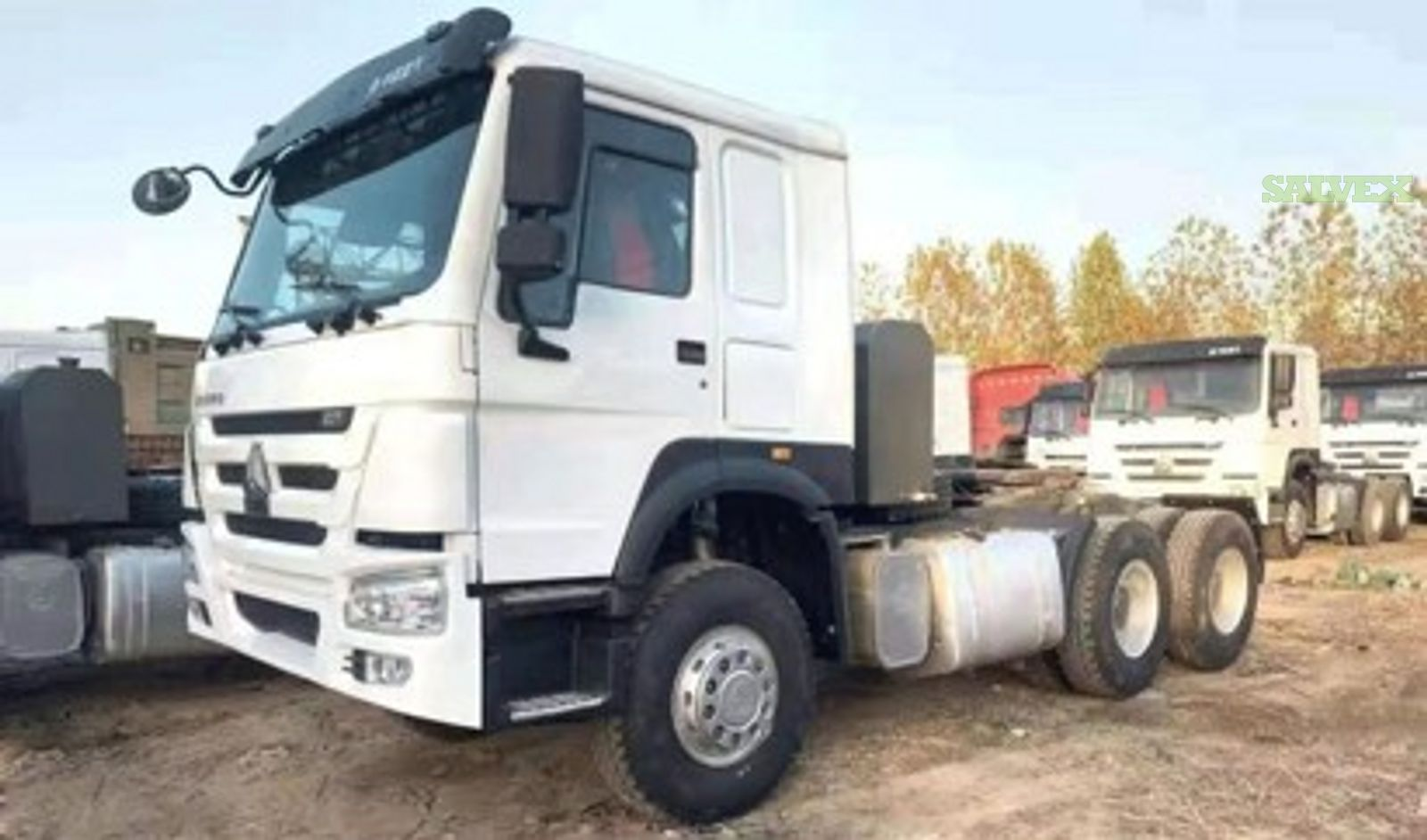 SINOTRUK HOWO 6x4 Tracktor (Heavy Duty/Agricultural) 2014