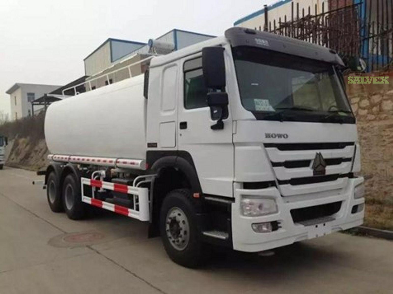 SINOTRUK HOWO 25m³ Water Truck (1 Unit)