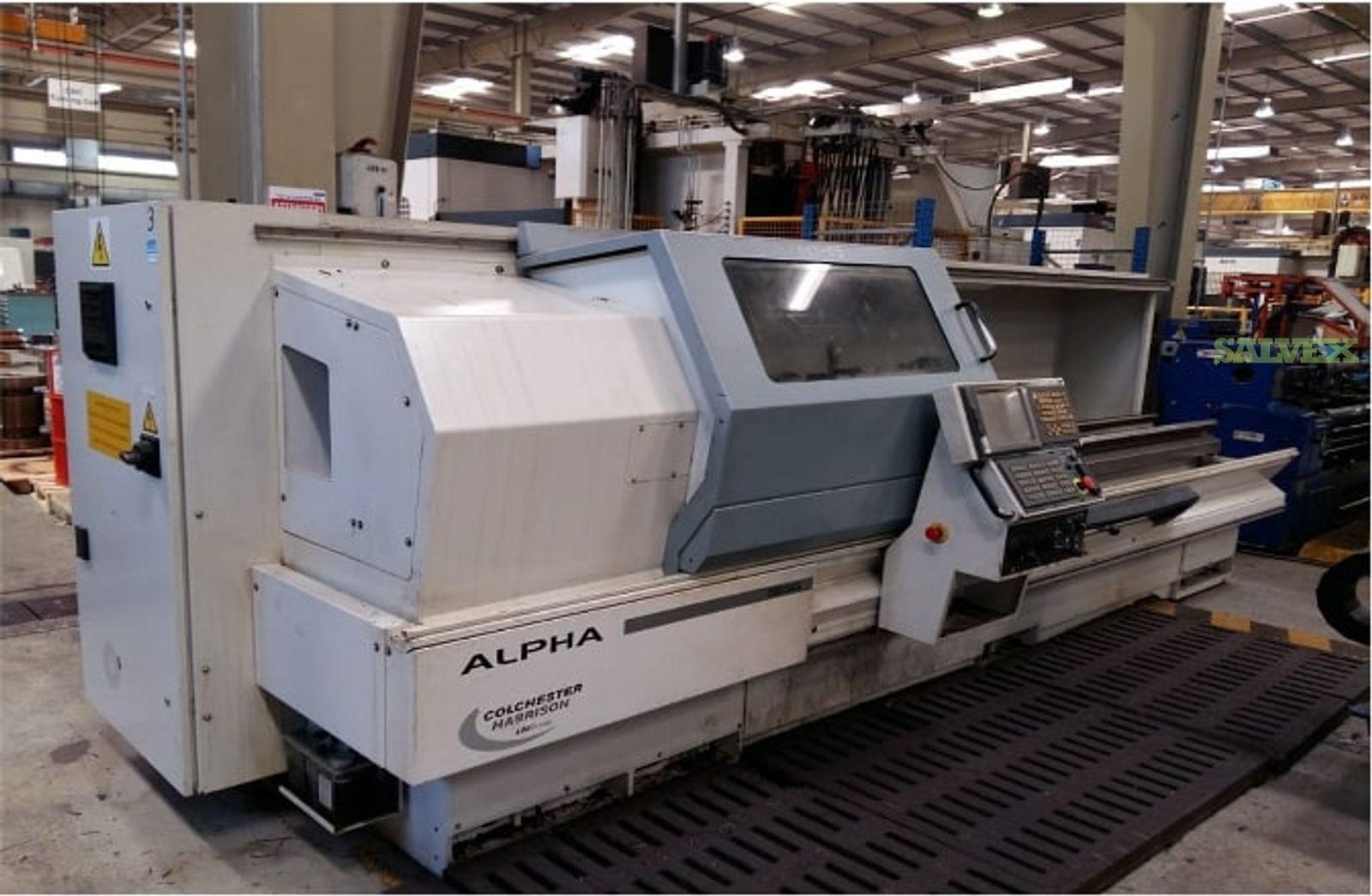 Colchester Alpha 1550XS CNC Lathe Machine 2010 (1 Unit)