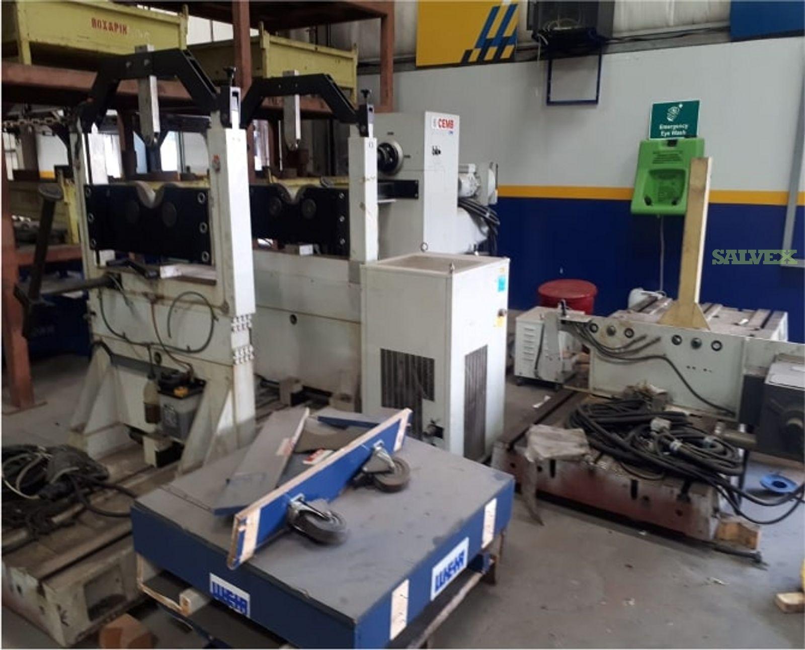 CEMB Balancing Machine Big (1 Unit / 20 Ton)