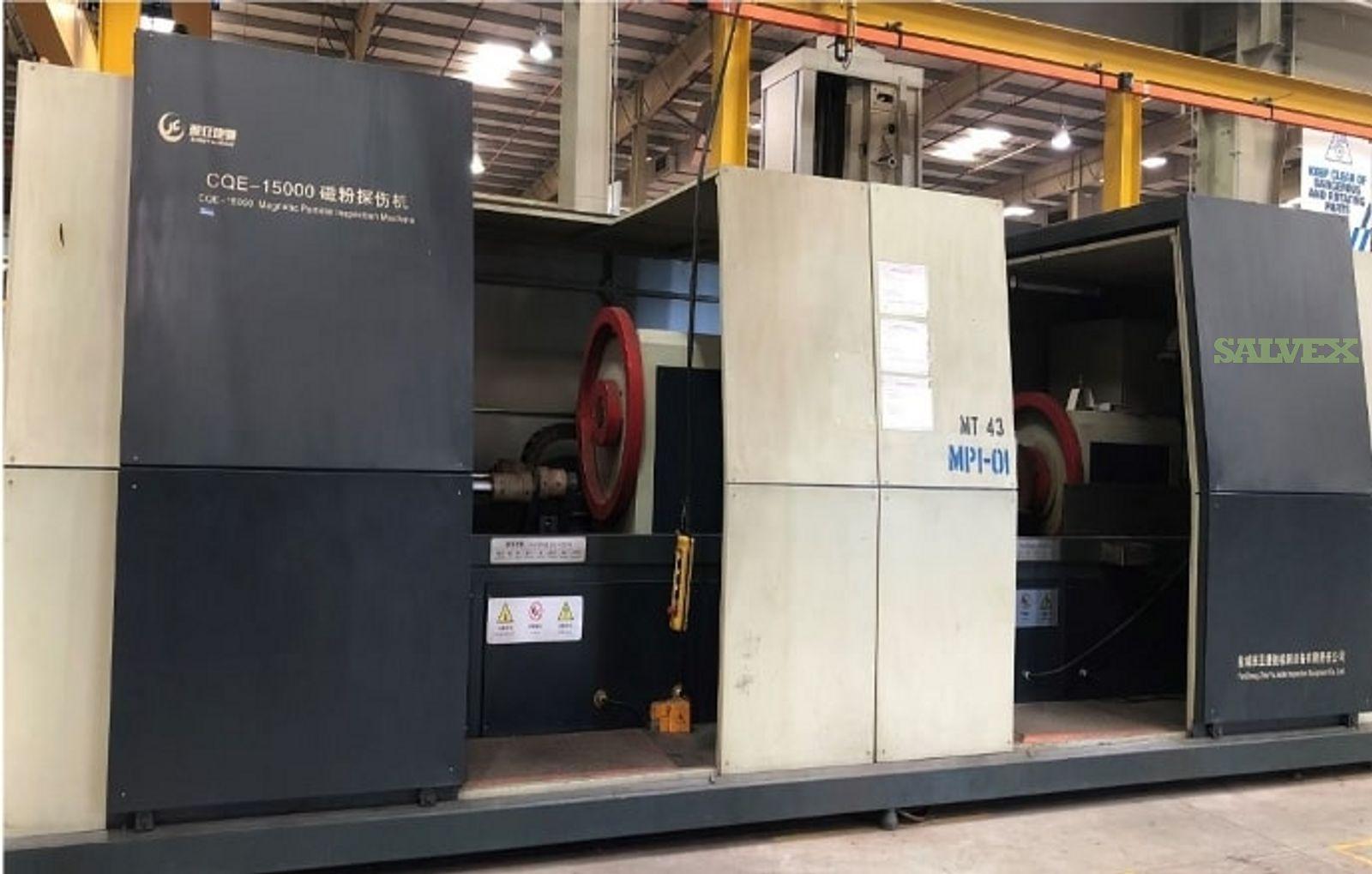 Zengya Jiechi CQE-15000 Magnetic Particle Inspection Machine 2016 (1 Unit)