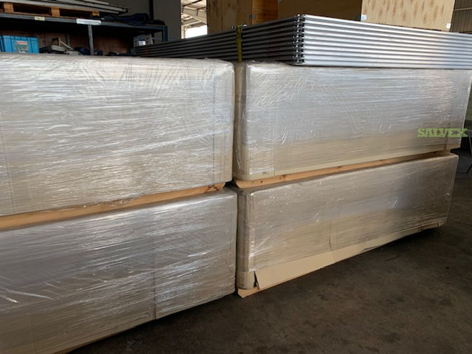 PMC Pallets (96 x 128) (100) and PAG Pallets (88 x 126)  (10)