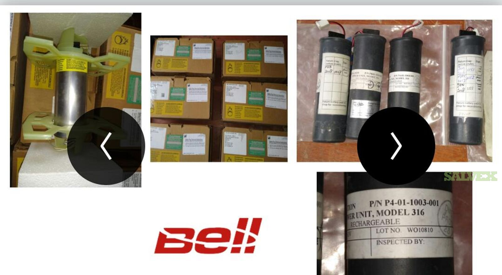 Bell Emergency Oxygen Generator, Battery and More (79 Units)