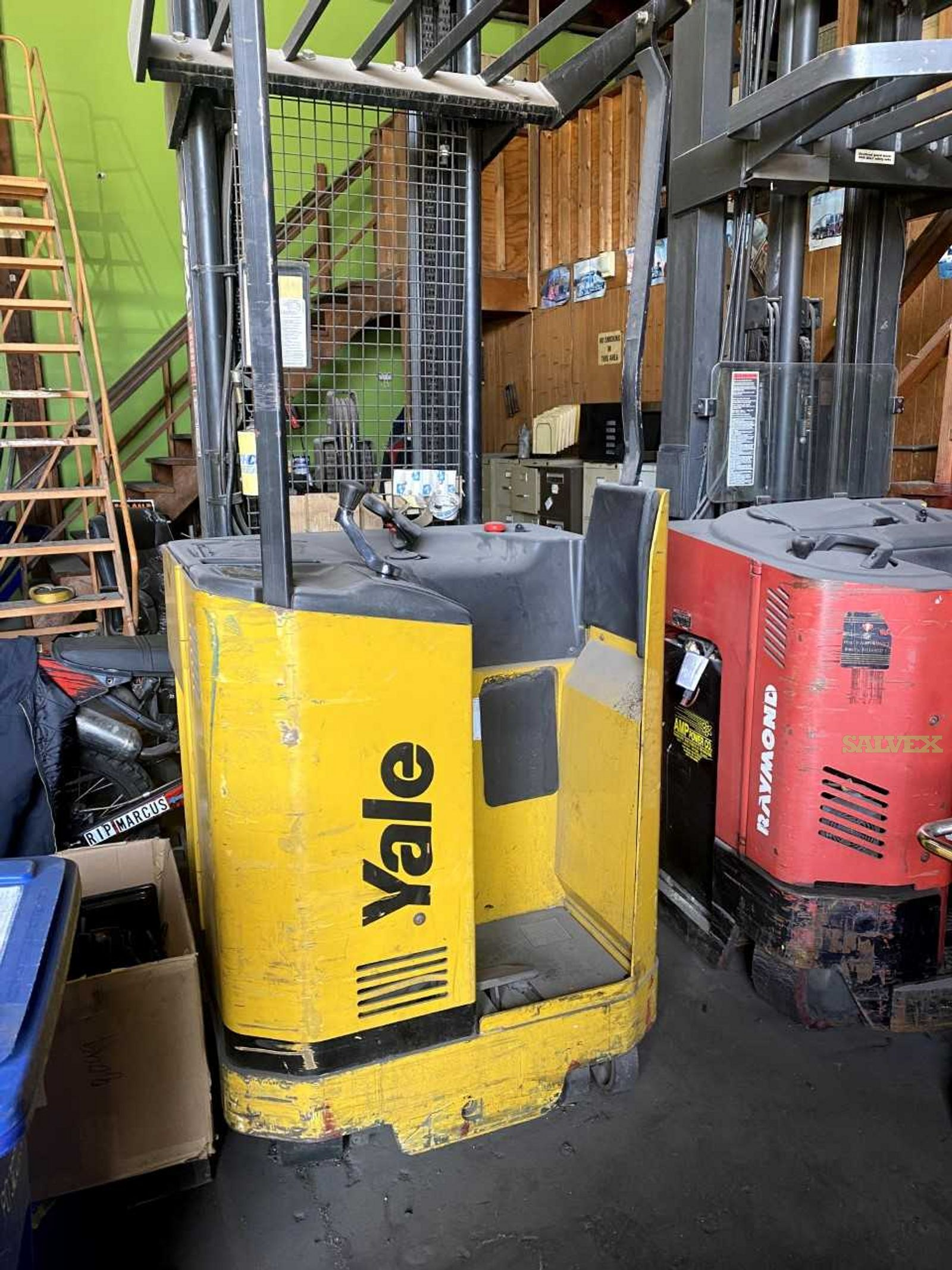 Yale and Raymond Forklifts (2)