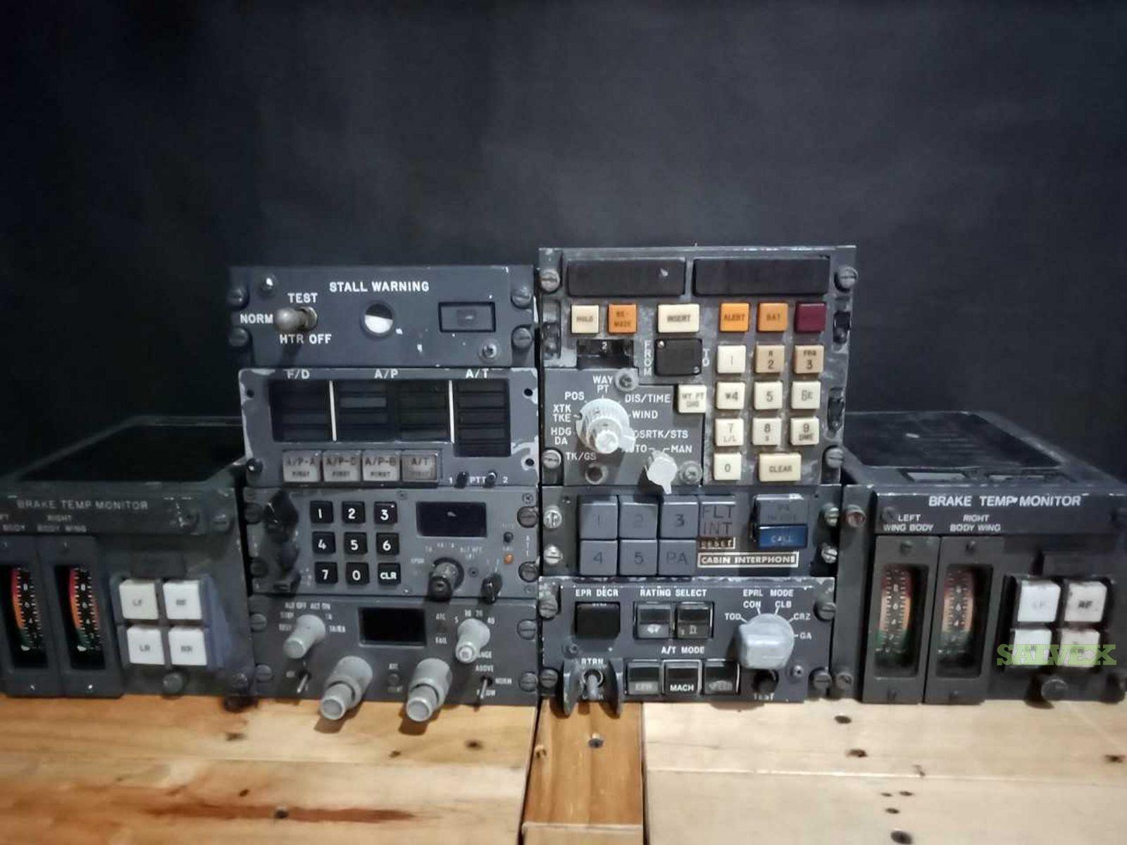 TCAS Control Panel , CDU, Brake Temp Monitors  (9 Units)