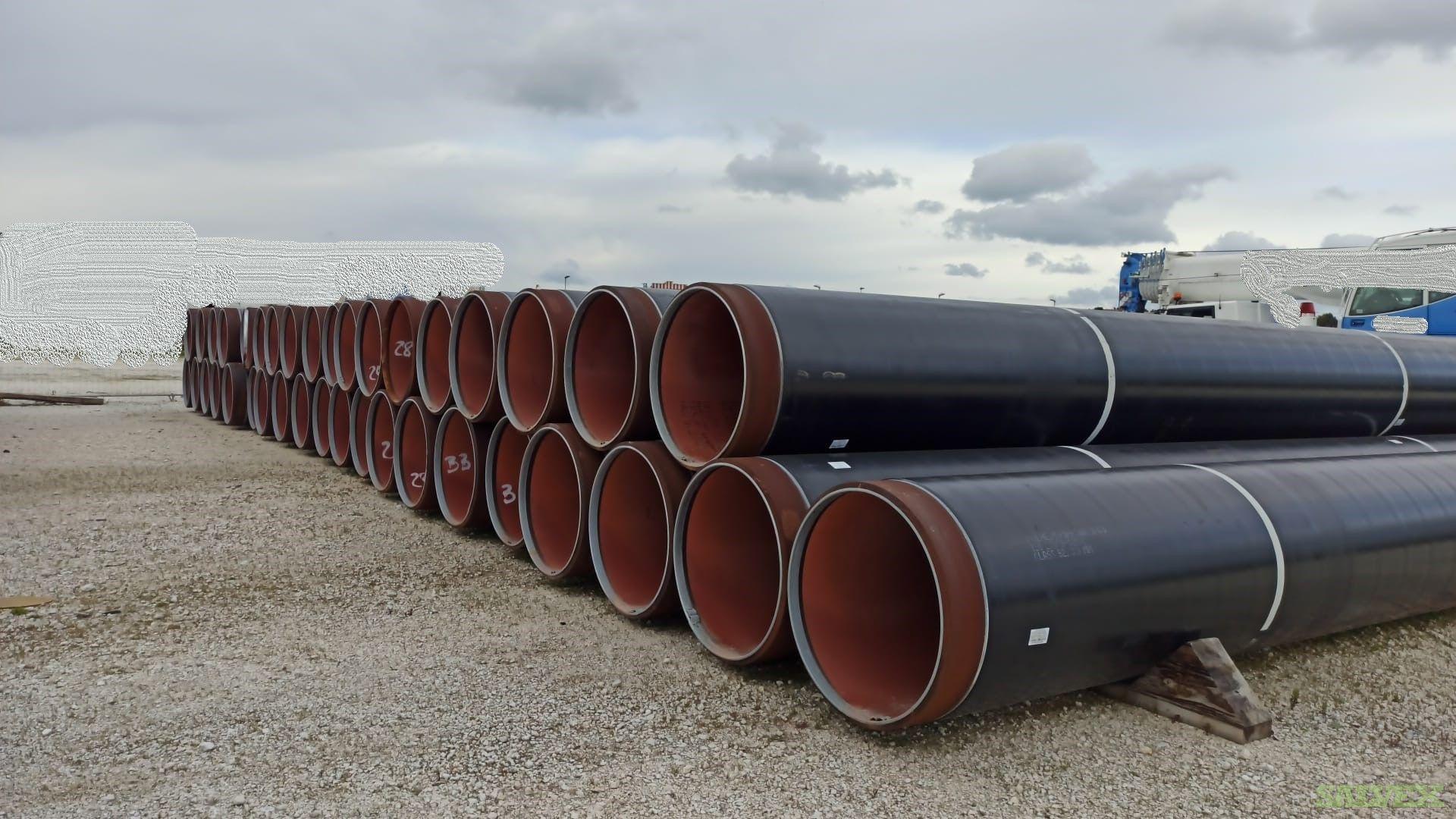 36- 48 Coated Surplus Line Pipe (2018 Feet / 411 Metric Tons)