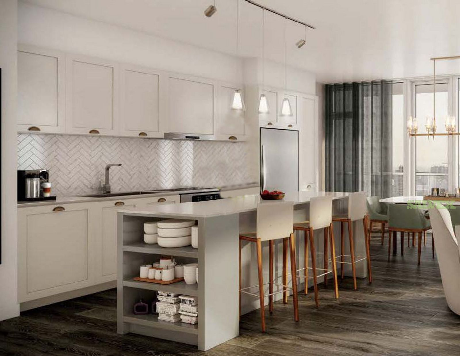Kitchen and Bath Cabinets (5 Containers) - in New Jersey