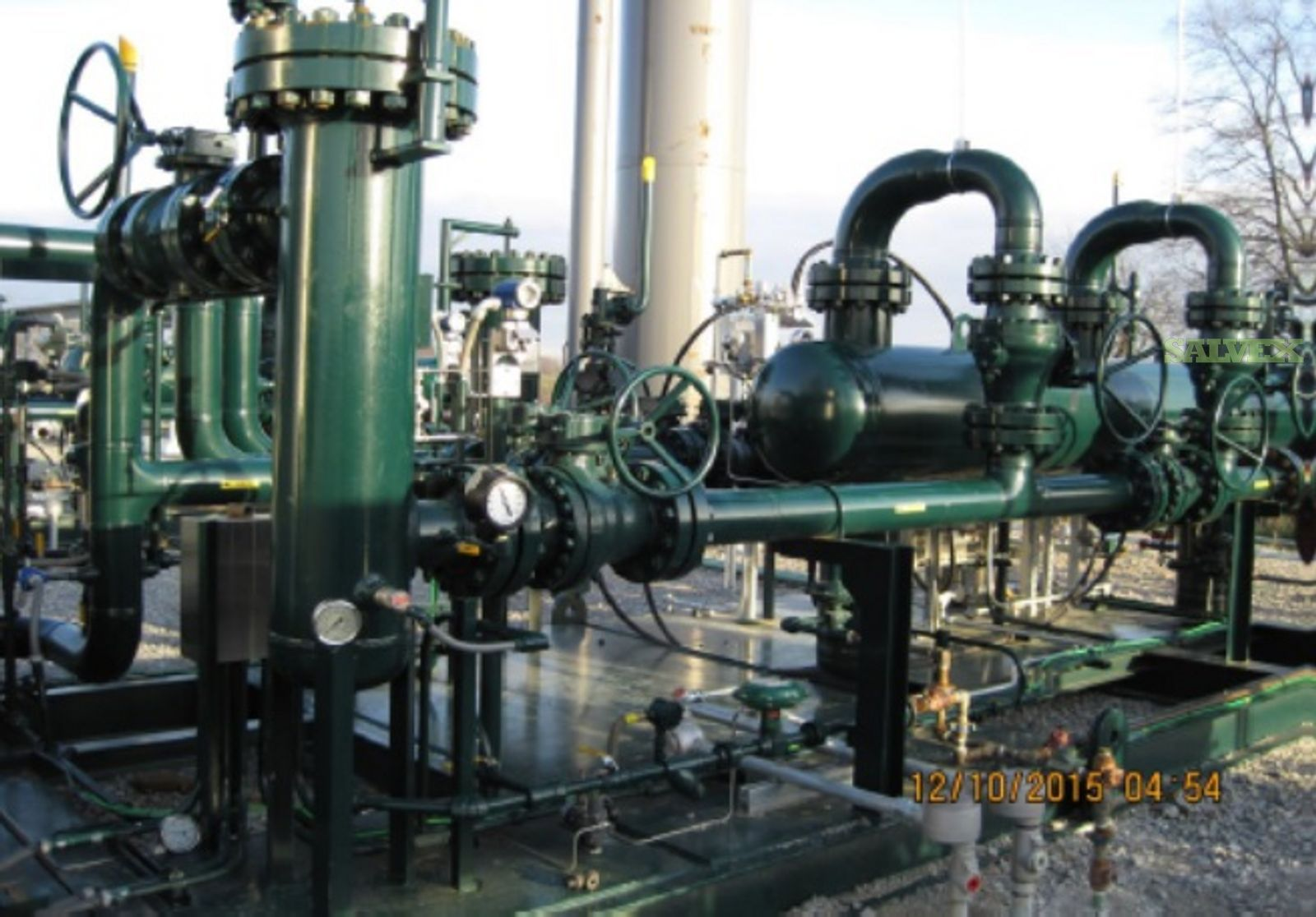 Horizontal and Vertical Separators & Pressure Swing Absorption Unit (PSA's with Filter Skids)