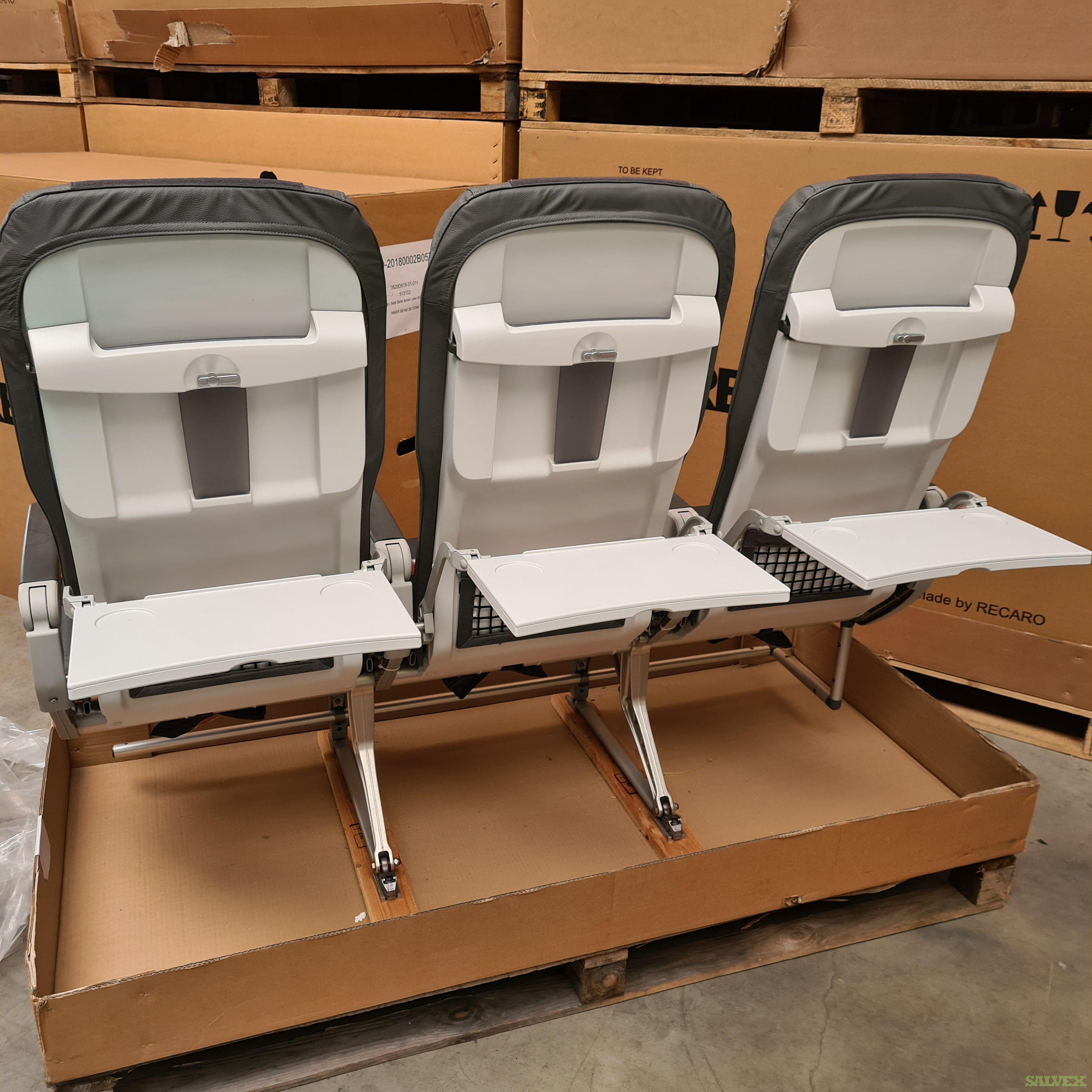 Airbus A320 Seats: YOM 2012, 180 Pax, Recaro BL3520 (1 Shipset)