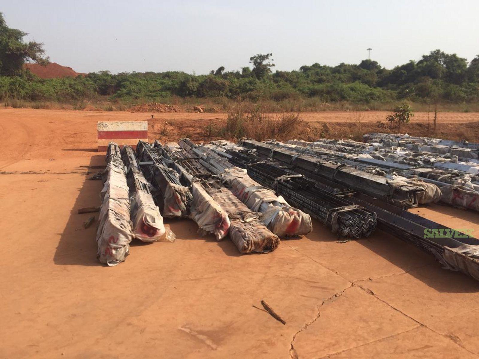 Galvanized Steel (127747 kg)