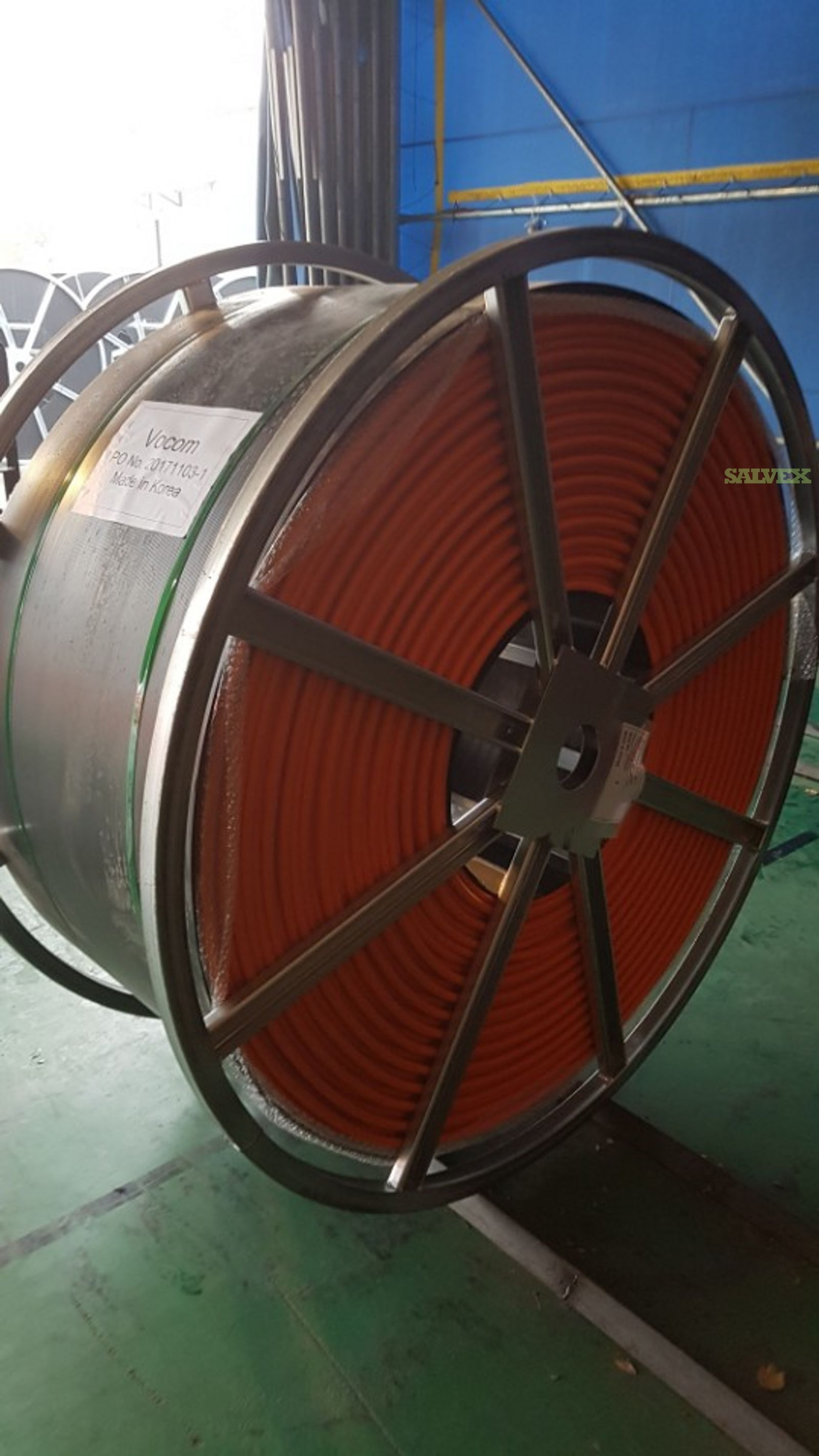 Knet Dual-Channel Cable Microduct, 12.7/10mm - for Air-Blown Fiber Optic Cable Installation (10 Reels / 55,000 FT)