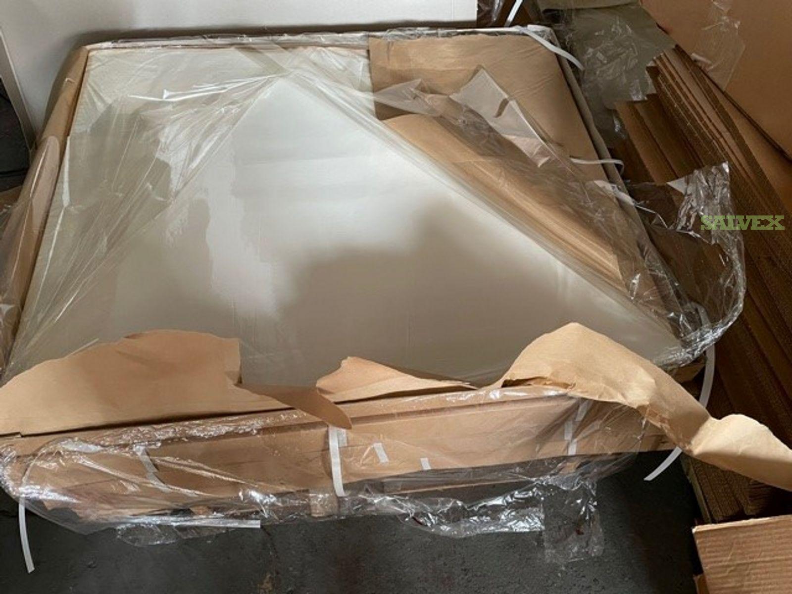 White Cellophane Sheets 48 x 48 ( 14100 / Lbs )