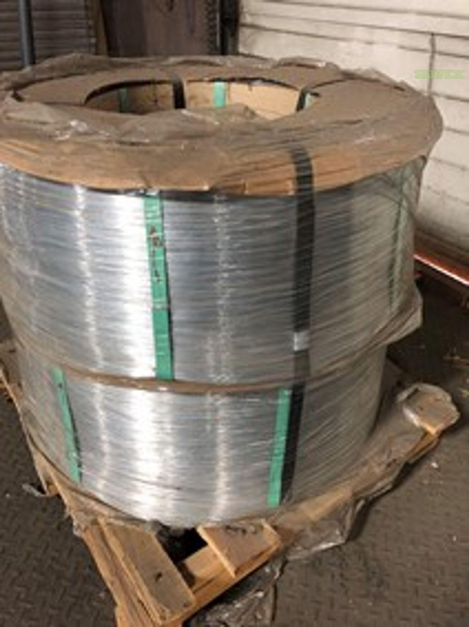 Galvanized High Carbon Steel Wire 0.018'' / 0.45mm (60 Rolls / 30,000 Lbs)