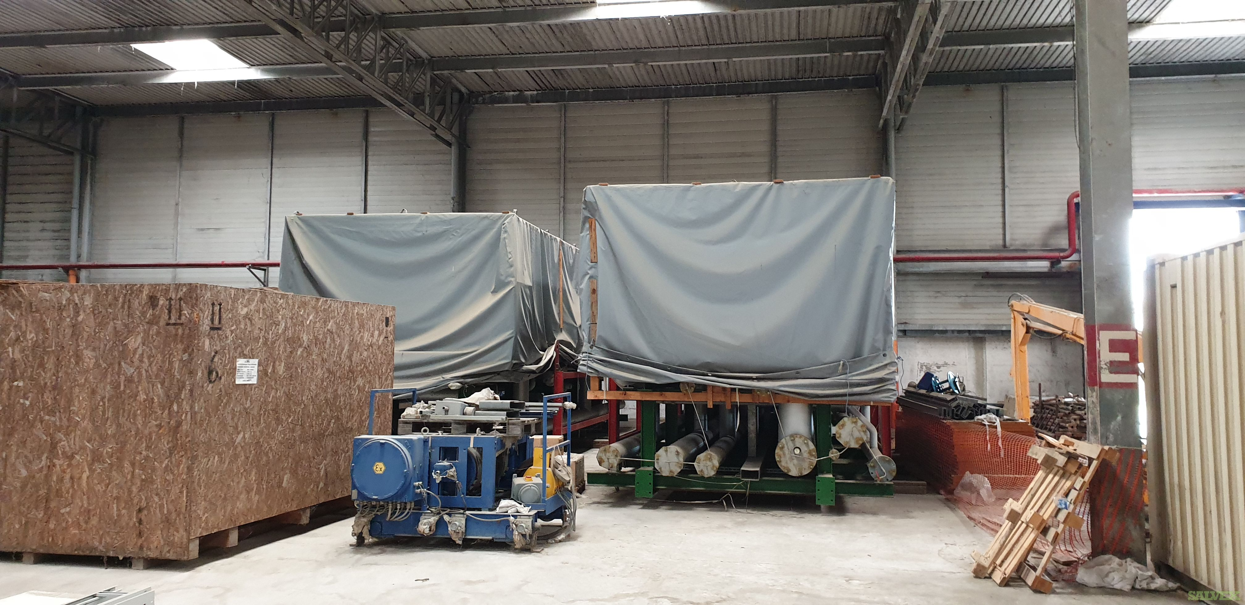 Thyssenkrupp Steam Reforming System / Unused (64 Pices )