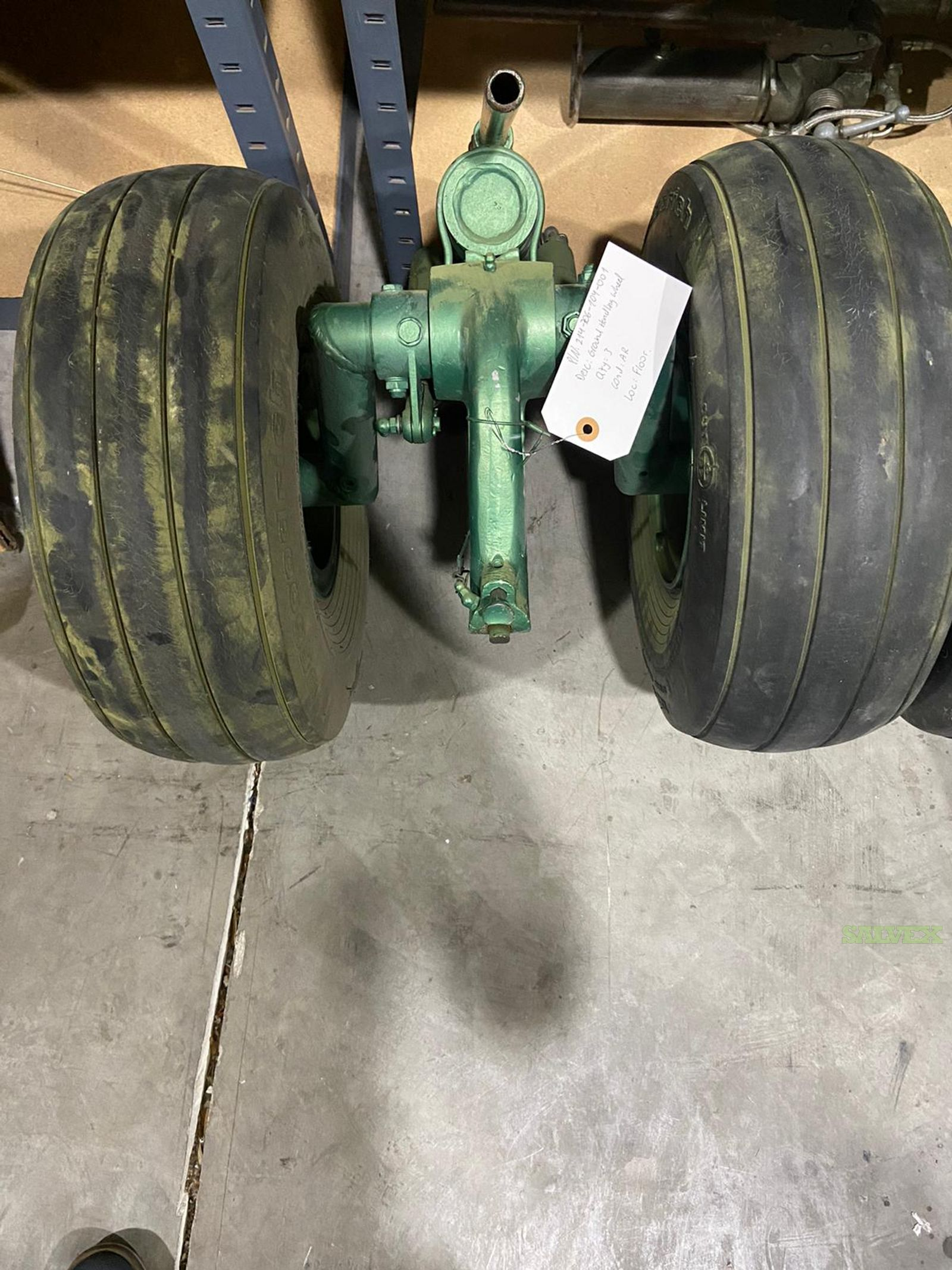 Bell Helicopter Ground Handling Wheels // P/N: 214-706-104-001 (2 Units)